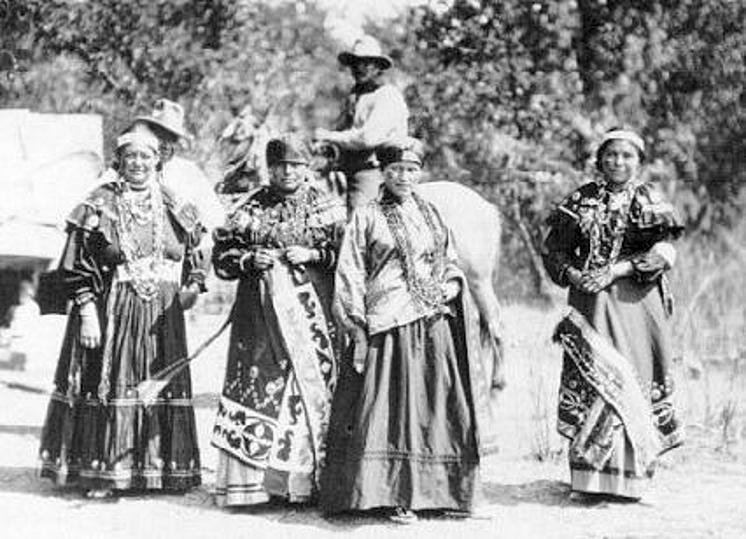 Black Indians California