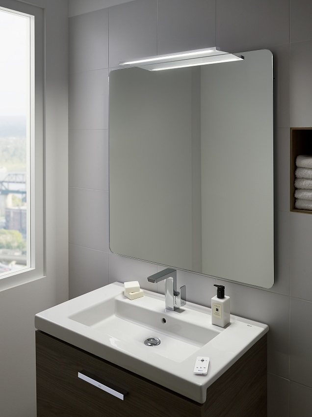 Picture Light Above Mirror