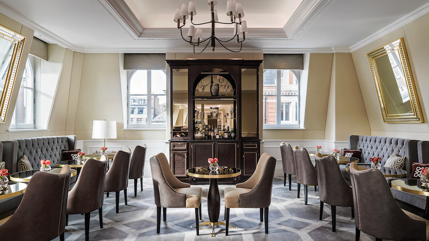 Uncategorized   Hotel Interior Designs london best hotels langham hotel club 2