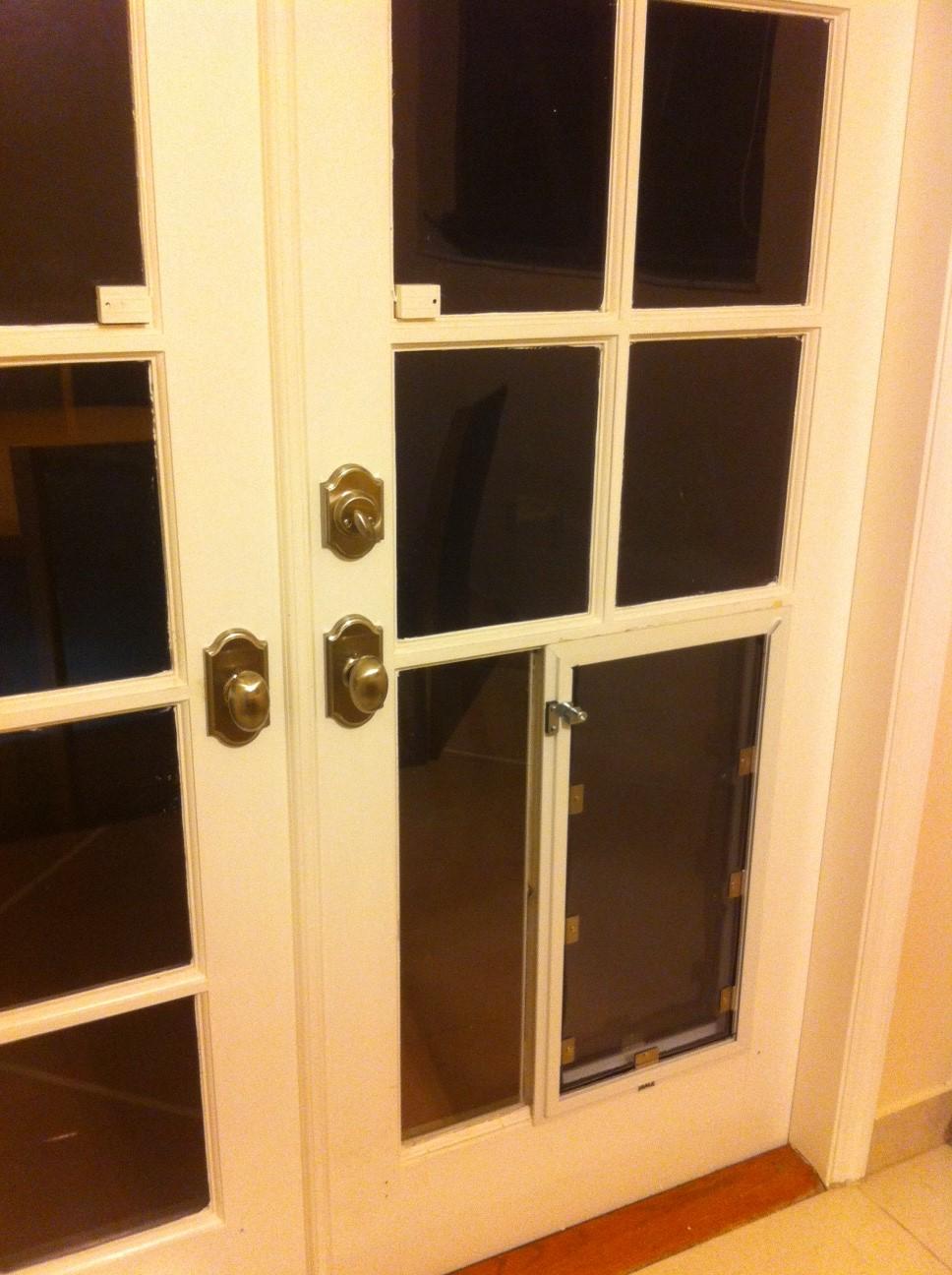 TOP 20 Custom And Classic French Doors With Dog Door - Used Patio Doors