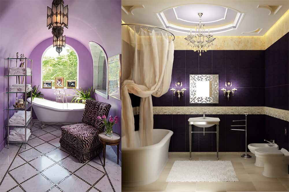 Bathroom Decor Royal Blue