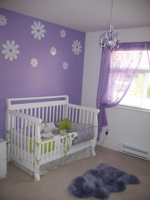 Lovely Nursery Decor Ideas With Secured Bedroom Appliances