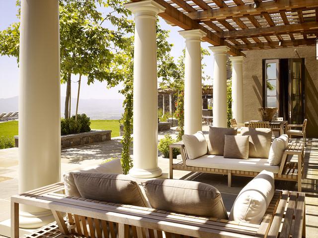 Natural Patio Pergola In Gorgeous Design Beautifies Your