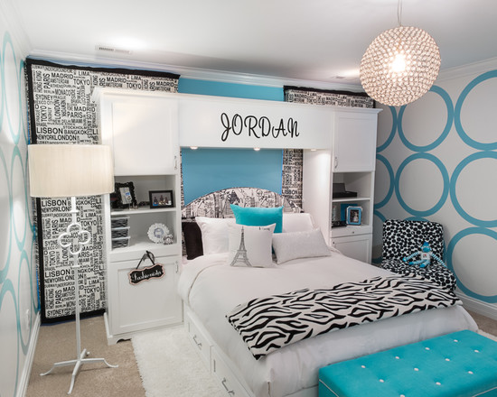 Cute Bedroom Furniture For Teenage Girls With Hello Kitty