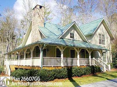 11 Cottage House Plans To Love     Housekaboodle 11 Cottage House Plans To Love   Cottage Retreat House plan