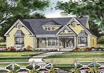11 Cottage House Plans To Love     Housekaboodle 11 Cottage House Plans To Love   Victorian Cottage in a Small Package