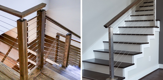 Affordable Cable Railing Kits   Steel Cable Stair Railing   Diy   White   Balcony   Steel Wire   Industrial