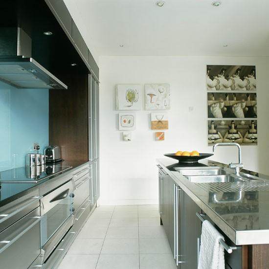Contemporary Galley Kitchen Designs