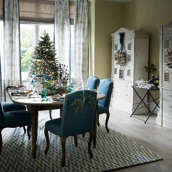 Teal Dining Room Decorating Ideas