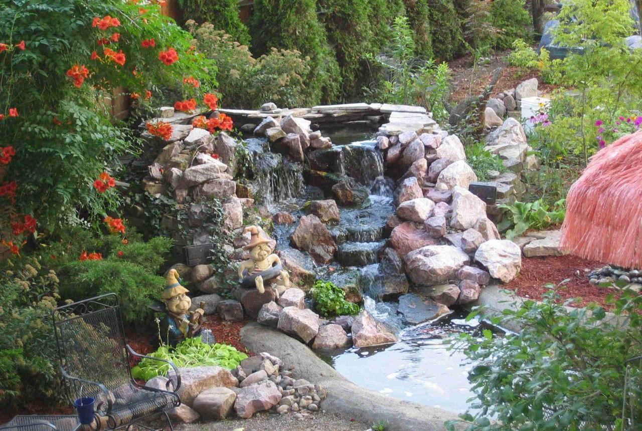 How Make Pond Waterfall