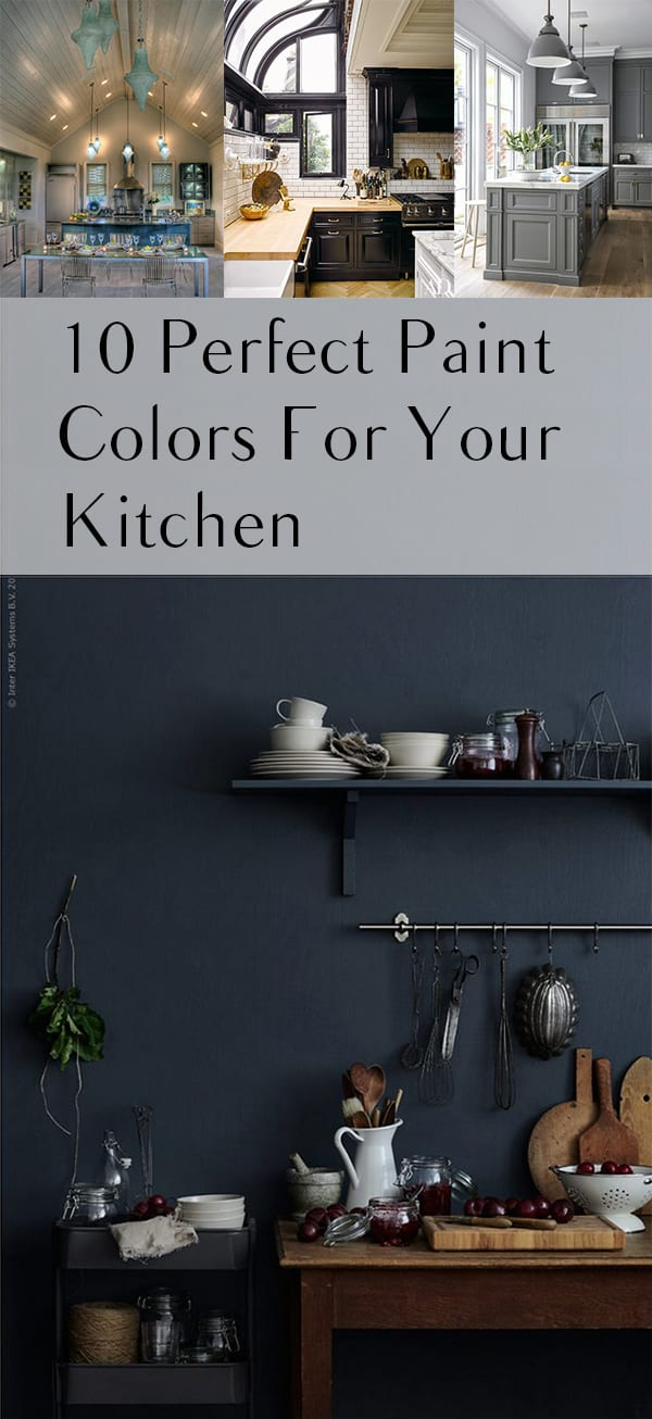 Gorgeous Paint Colors For Your Kitchen