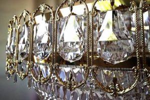 Candelabru de la cristal