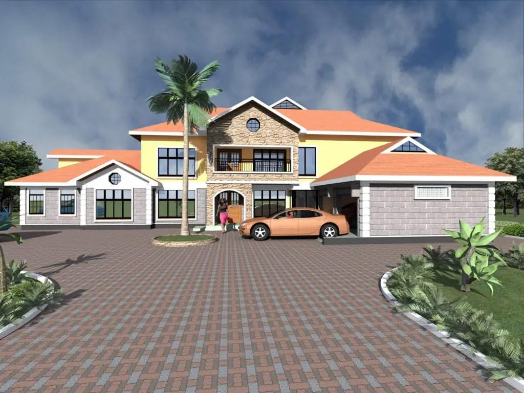 6 Bedroom Maisonette House Plans Designs Hpd Consult