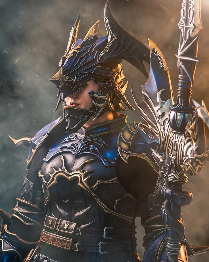 Gorgeous Final Fantasy XIV Dragoon Cosplay by ...
