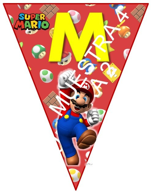 Recuerdos Bros Mario De