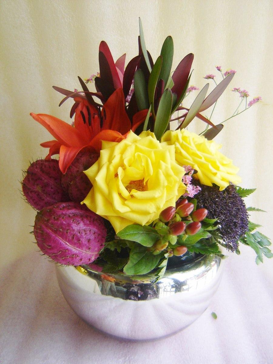 Bases De Vidrio Para Flores