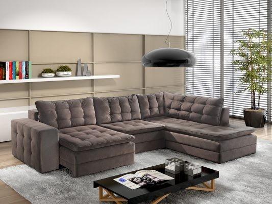 Sofa Chaise Retratil 2 Lugares