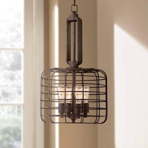wide industrial pendant lighting # 52