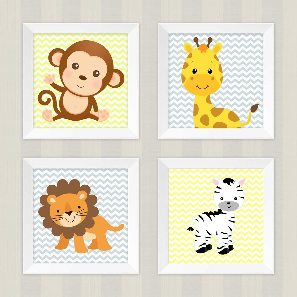 Safari Wall Art For Nursery