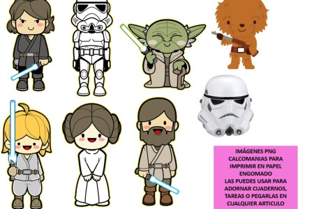 pegatinas star wars para imprimir » Path Decorations Pictures | Full ...
