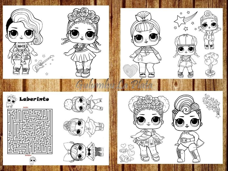 Dibujos De Lol Surprise Para Imprimir Y Colorear Buscar Con Google