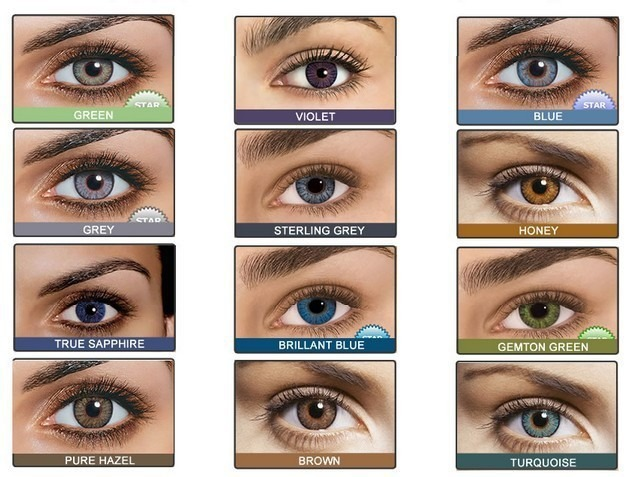 Colored Contact Lenses Sterling Grey
