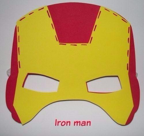 Moldes De Para Fomi Avengers