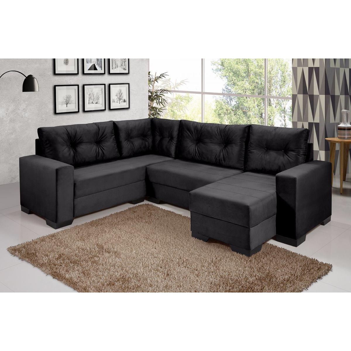 Sofa 5 Lugares Chaise