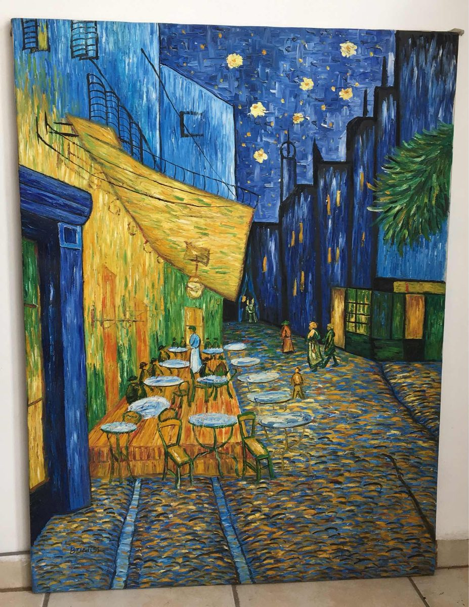 Terraza De Cafe Por La Noche 211 Leo 2 500 00 En Mercado