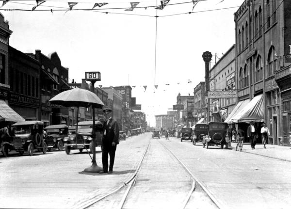 Street And White Black Suburban