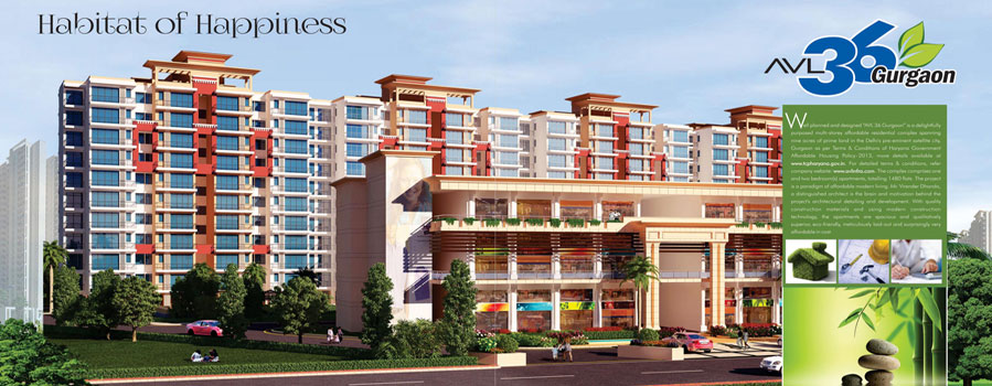 AVL 36 in Sector 36 Gurgaon
