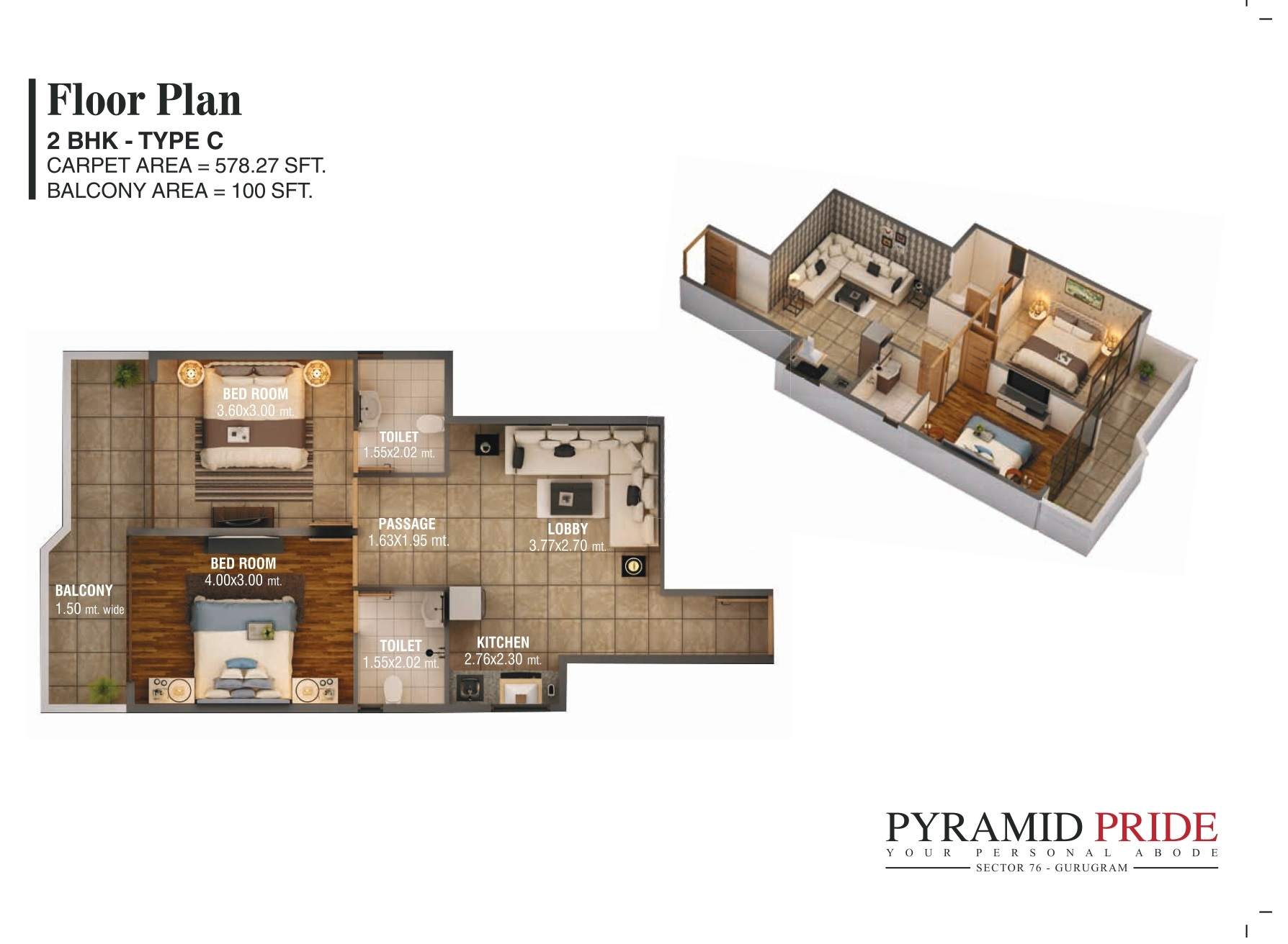 Pyramid Pride Sector 76 Gurgaon Affordable Housing