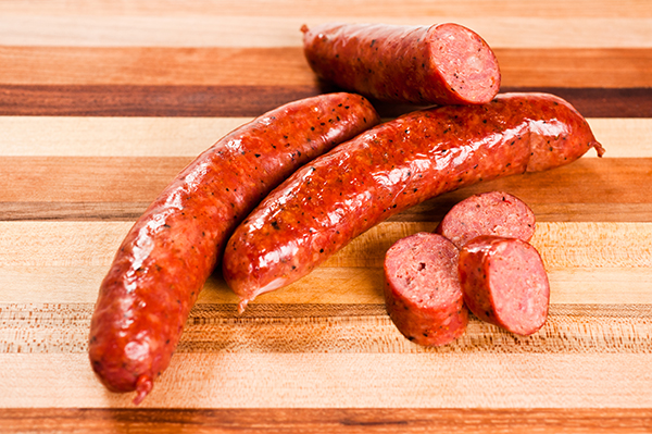 Red Steven Smoked Sausage Link
