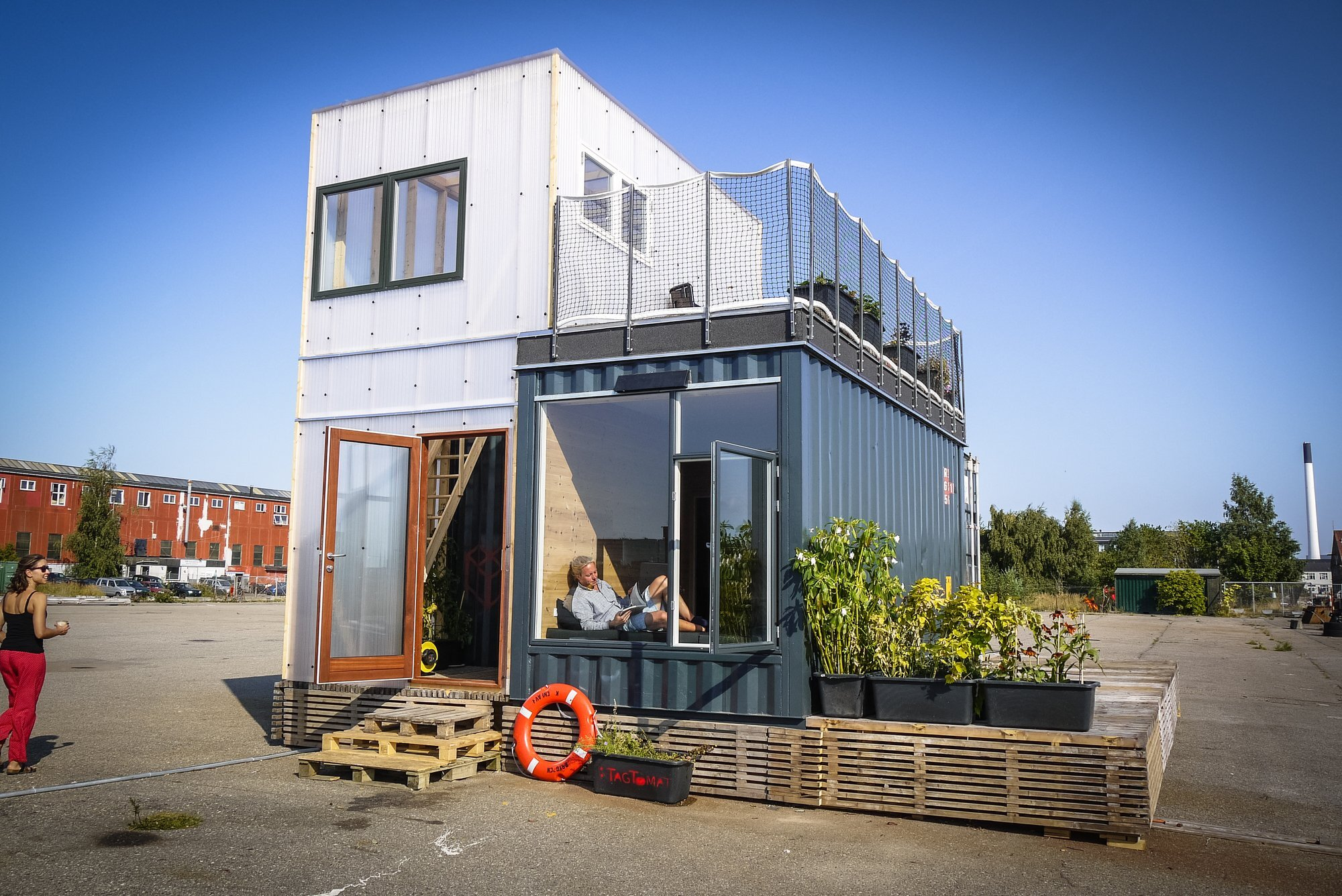 Best Kitchen Gallery: A Student Village Made Of Container Homes In Copenhagen By Cph of Containers For Homes  on rachelxblog.com