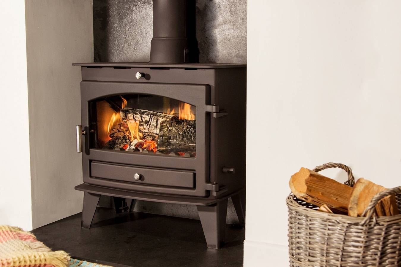 Hunter Stoves Avalon Slimline 8
