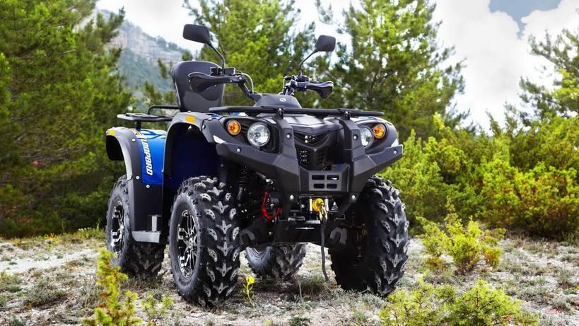 Quad bike stels ATV 600 leopard