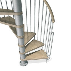 Spiral Staircases At Menards® | 10 Foot Spiral Staircase | Reroute Galvanized | Lowes | Stair Kit | Winding Staircase | Staircase Kit
