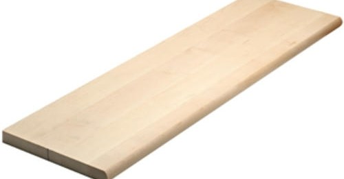 Mastercraft® Maple 1 1 16 X 11 1 2 Stair Treads At Menards® | Prefinished Maple Stair Treads | Stairtek | Retread | Wood Stair Nosing | Risers | Unfinished Maple