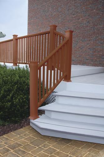 Ultradeck® Fusion® 6 W X 3 H Stair Rail At Menards® | Menards Interior Stair Railing