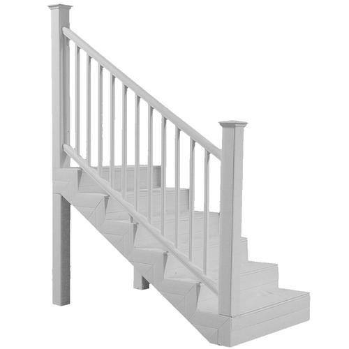 Ultradeck® Fusion® 6 W X 3 H Stair Rail At Menards® | Outdoor Stair Railing Menards