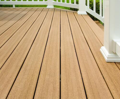 Ultradeck® Rustic™ Composite Decking Radius Edge Board At Menards® | Composite Exterior Stair Treads | Blocking | Indoor | Deck Trex | Picture Framing | Patio