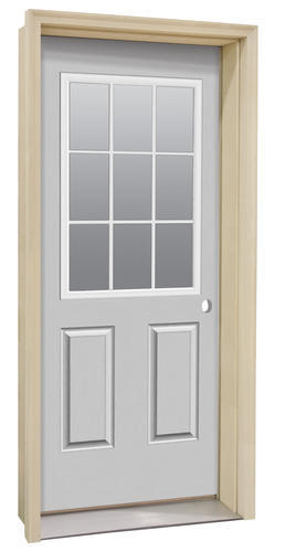 Commander 174 Primed Steel 9 Lite Exterior Door System At