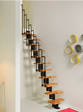 Spiral Staircases At Menards® | 6 Foot Spiral Staircase | Reroute Galvanized | Stair Case | Mylen Stairs | Wood | Metal