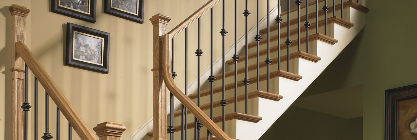 Millwork Staircase Systems Accessories At Menards® | Used Steel Stairs For Sale | Seawall | Exterior | Hinged | Black Metal | Industrial