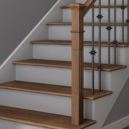 Millwork Staircase Systems Accessories At Menards® | Installing Newel Post And Spindles | Stair Parts | Staircase | Stair Banister | Iron Stair | Wrought Iron Spindles