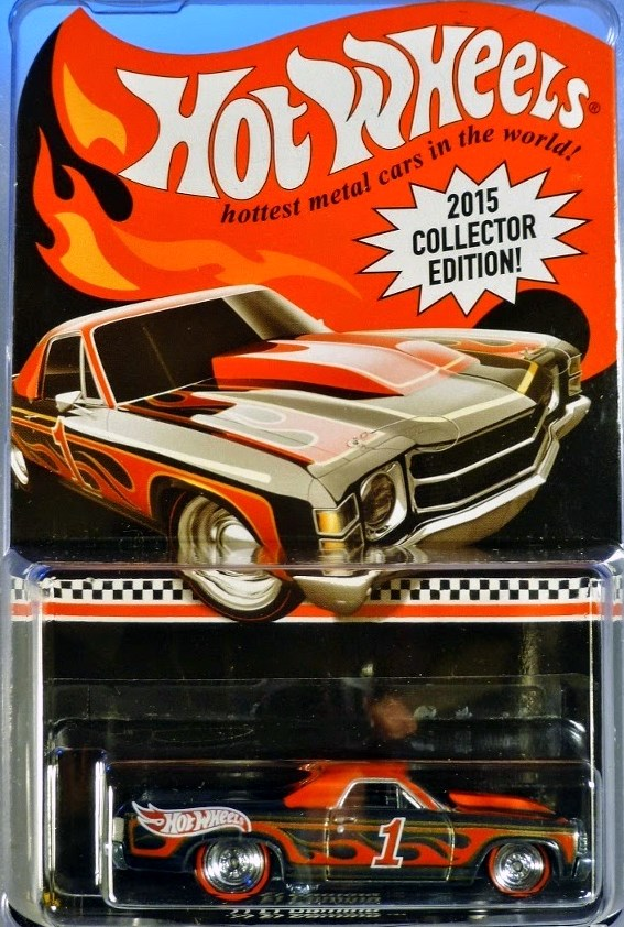 2015 Collector Edition Mail In Series Hot Wheels Newsletter