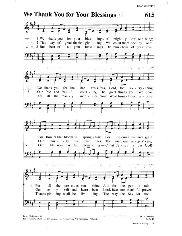 I Have Loved You Hymn