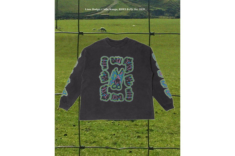 Alfie Kungu x Liam Hodges Spring/Summer 2020 Collection Looks Lookbook Release Information Free A3 Print Artist London Based Designer Hand Made Printed Garments