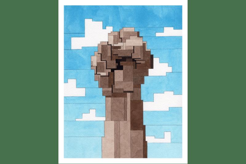 adam lister power print edition artworks equal justice initiative black lives matter