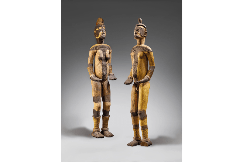 christies igbo sculptures paris auction controversy african art history